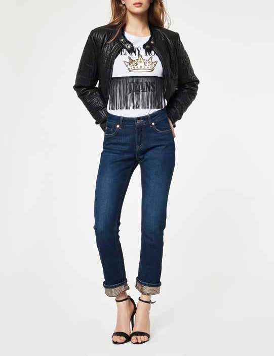 50/% Jeans 921ND26005 Autunno 2019 disponibile Denny Rose outlet