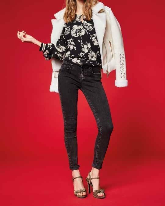 Dettagli su Blusa art 921ND45001 Donna Denny Rose jeans Autunno 201920