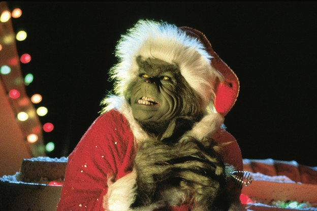 Jim Carrey als Grinch 2000