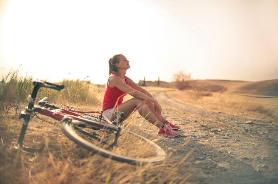 femme regime vélo