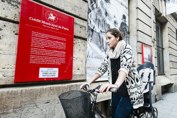 Vélo occasion crédit municipal