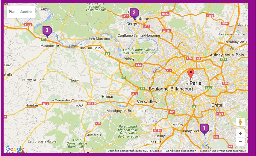 Cartographie du site recup-id.fr