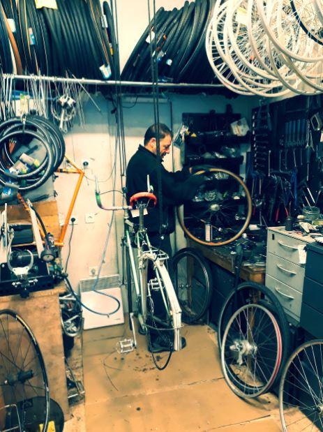 réparateur de vélo occasion à paris