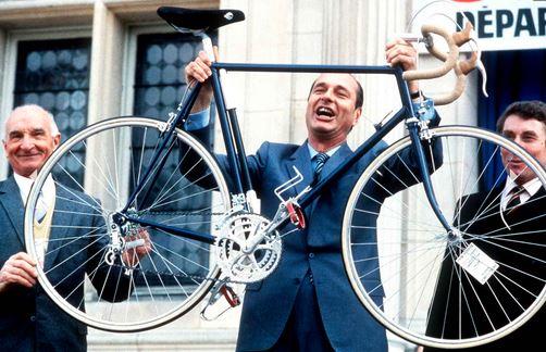 Jacques Chirac vélo ville de paris