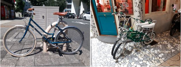 vélo vintage japon