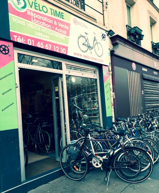 magasin de vélo d'occasion à paris