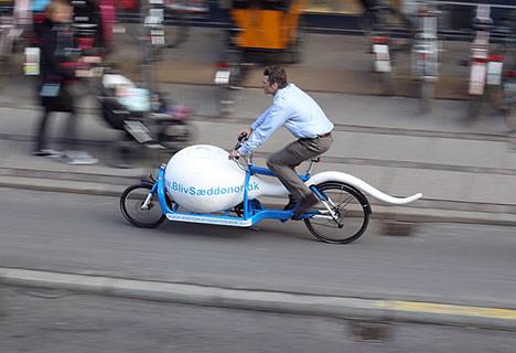 Vélo Sperme by European Sperme Bank