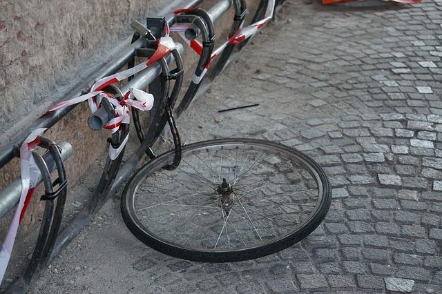 roue de vélos volés