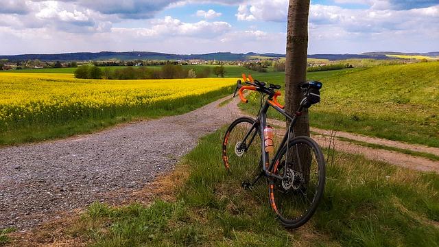 vélo de route campagne