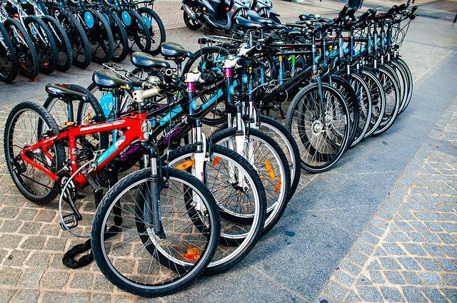 Flotte de vélos d'occasion