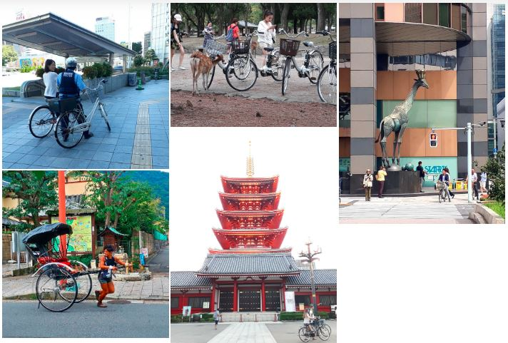 cyclotourisme japon