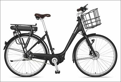 vélo skoda électrique noir