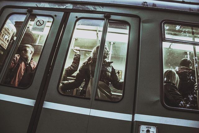 métro plein