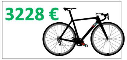 3000 euro vélo