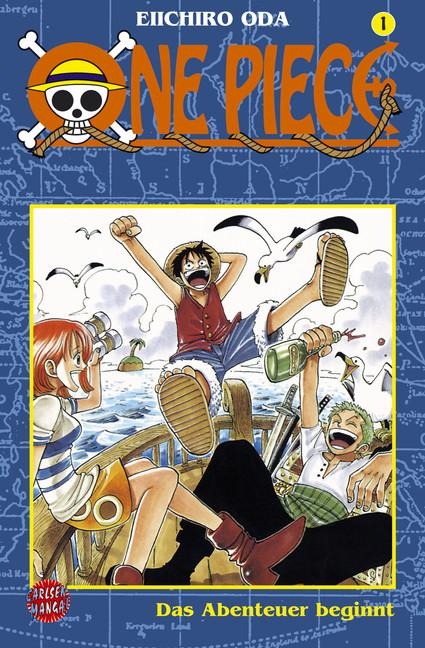 «One Piece» von Eiichiro Oda (Carlsen)