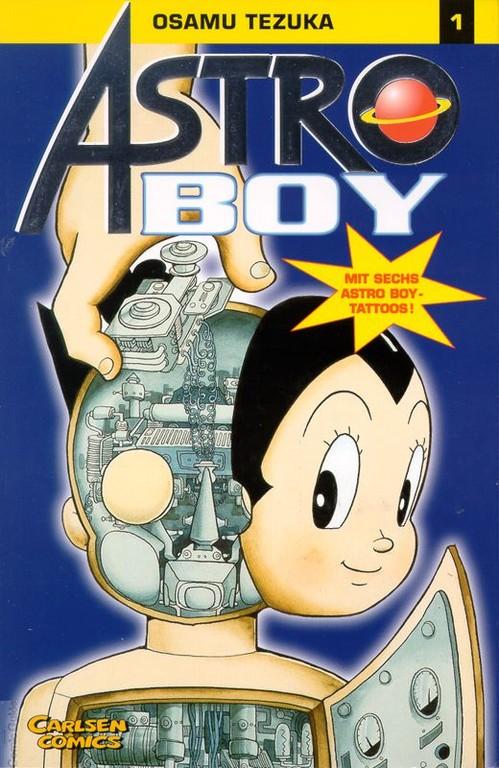 «Astro Boy» von Osamu Tezuka (Carlsen)