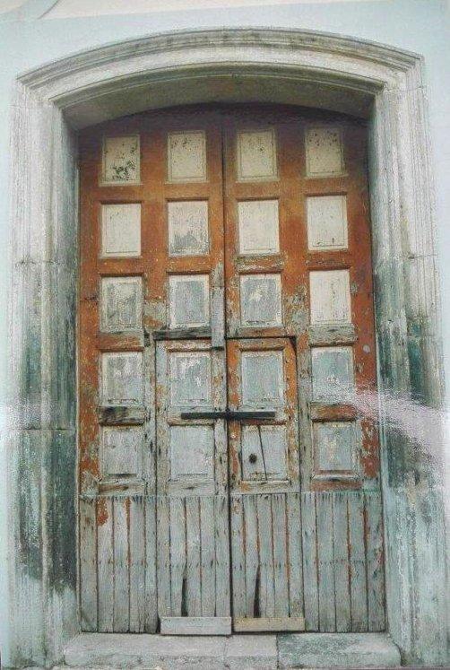 Portone di Napoli, vor der Restaurierung