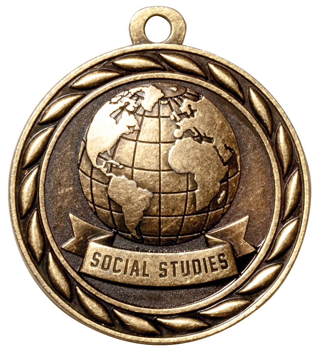 M328-MS - Social Studies Medal, *Gold Only
