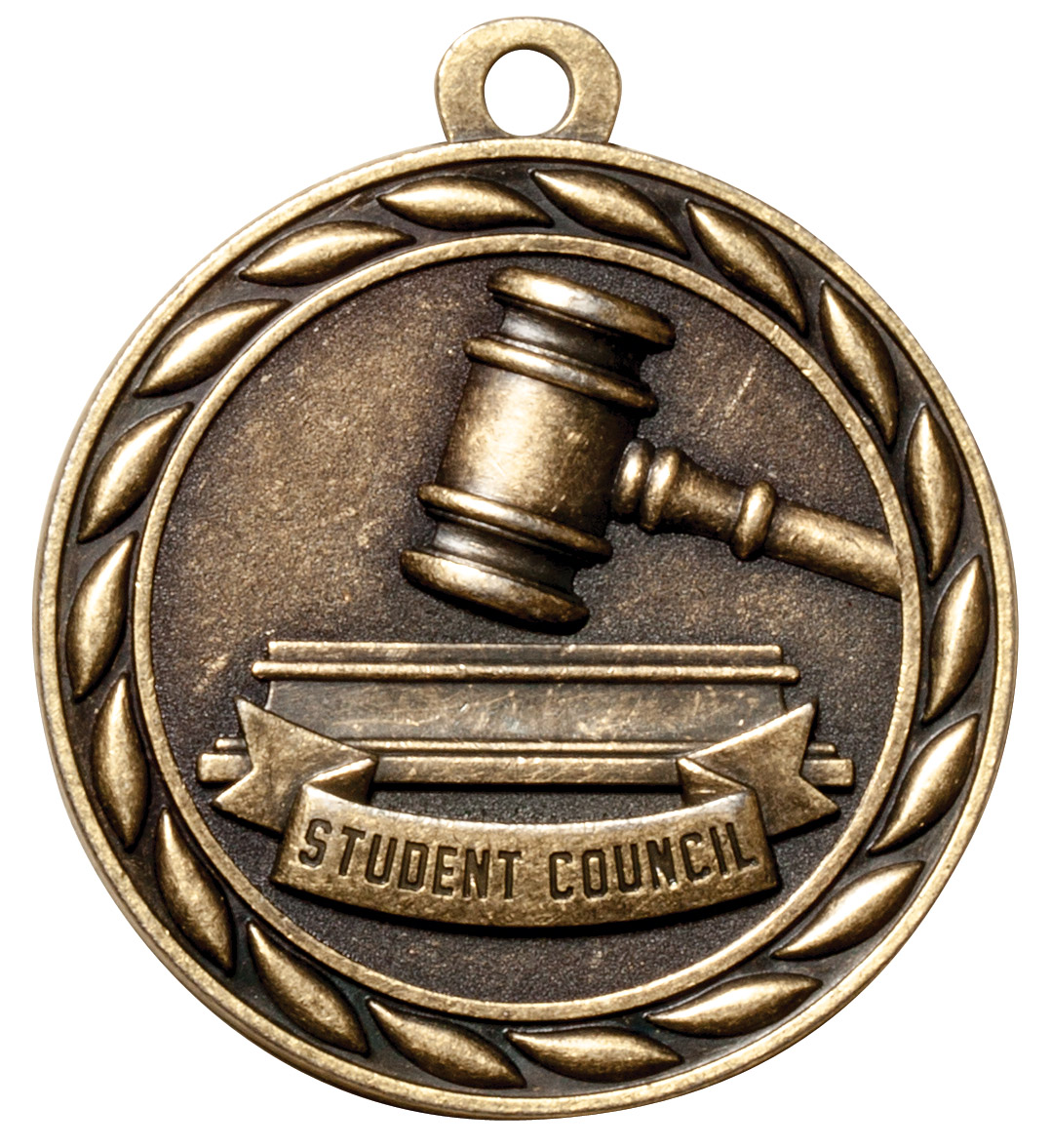 M330-MS - Student Council Medal, *Gold Only