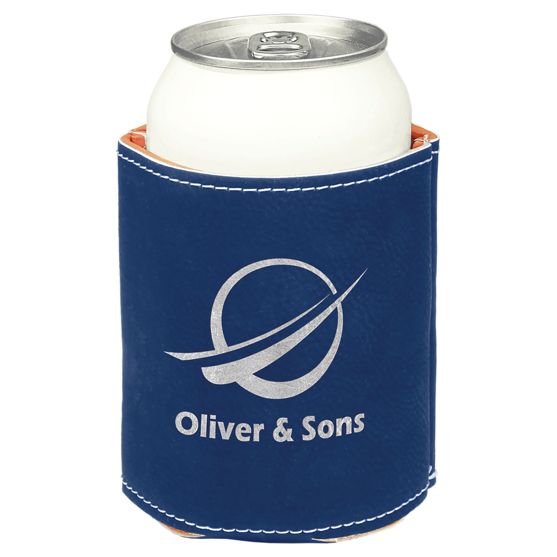 Blue/Silver Can Holder