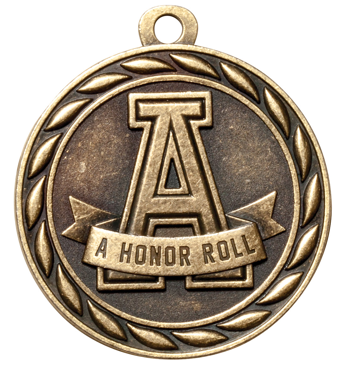 M311-MS - A-Honor Roll Medal (Gold Only)
