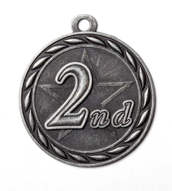 M362-MS - 2nd Place Medal, *Silver Only