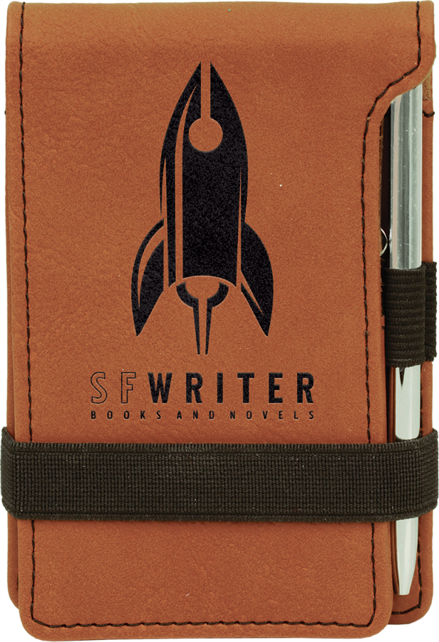 Rawhide Notepad