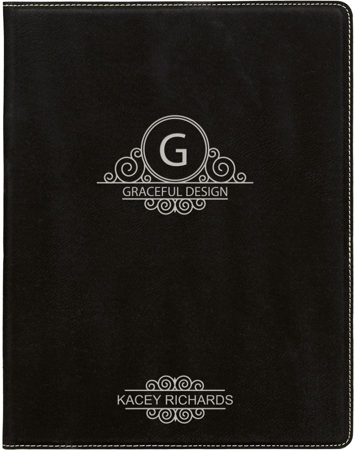 Black/Silver Portfolio