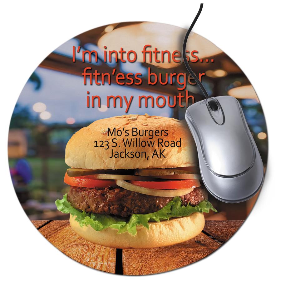 Round Neoprene Mousepad