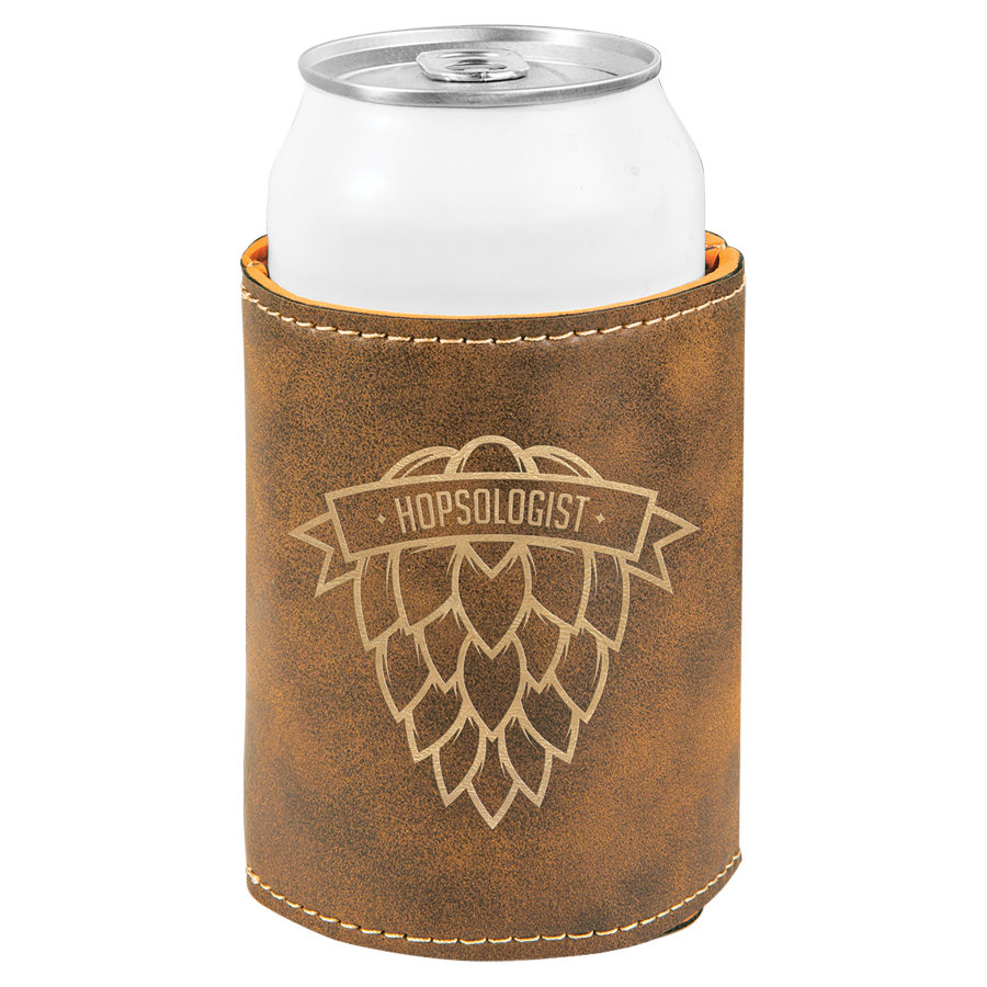Rustic/Gold Can Holder