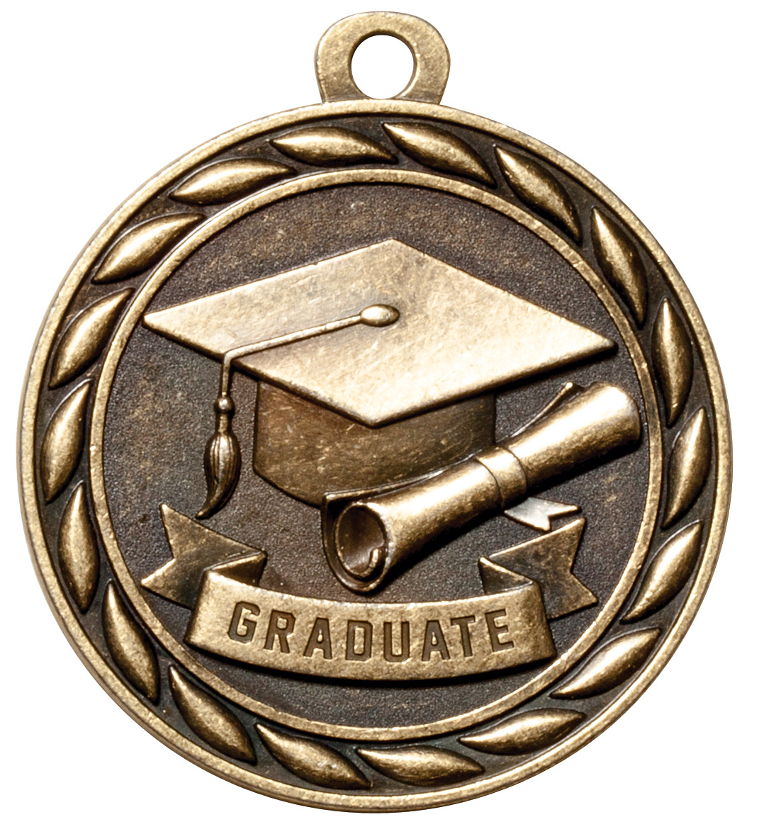 M309-MS - Graduate Medal (Gold Only)