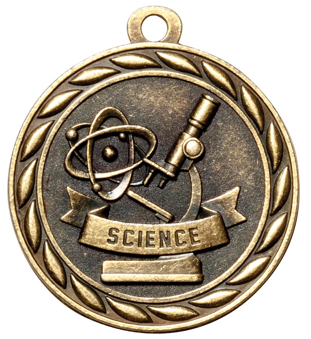 M327-MS - Science Medal