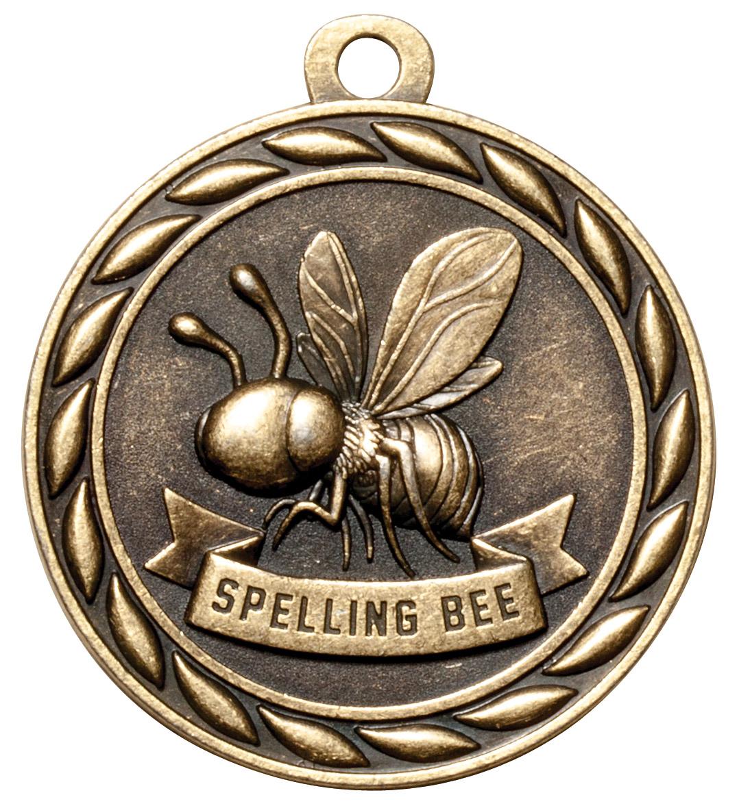 M329-MS - Spelling Bee Medal