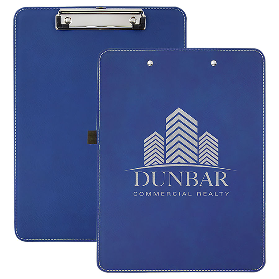 Blue/Silver Clipboard