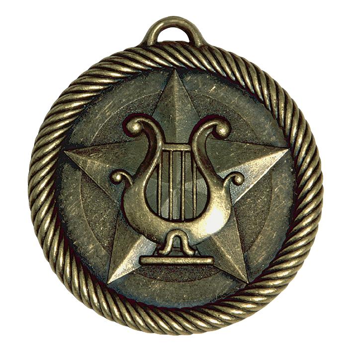 Music Lyre Medal