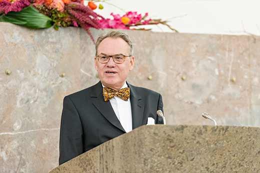 Dr. jur. Jürgen Ziebe, Geschäftsführer der Interessensgemeinschaft  Frankfurter Kreditinstitute GmbH (IFK)