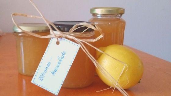 Erfrischende Zitronenmarmelade