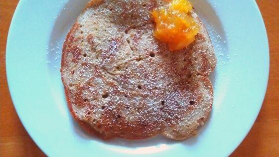 Buchweizen-Pfannkuchen FODMAP-arm