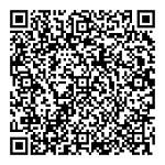 お店の電話番号、住所などをQRコードで一発登録することが出来ます。読み込みがうまくいかない場合は、QRコードをクリックすると拡大します。