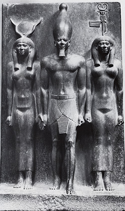 Mykerinos, Hathor, Göttin • 2520 v.Chr. • Kairo
