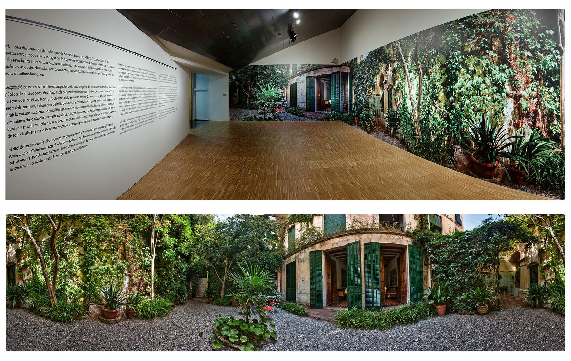 Gigantografía de 360º. CCCB (Centre de Cultura Contemporànea de Barcelona)
