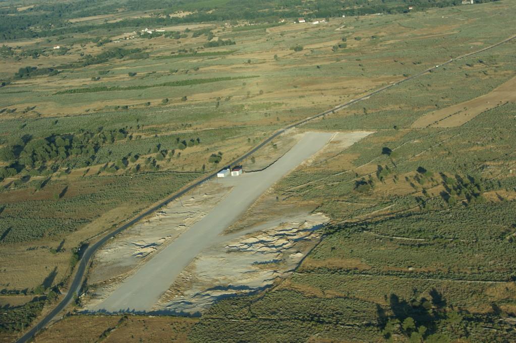 Portugal Sabugal piste en terre