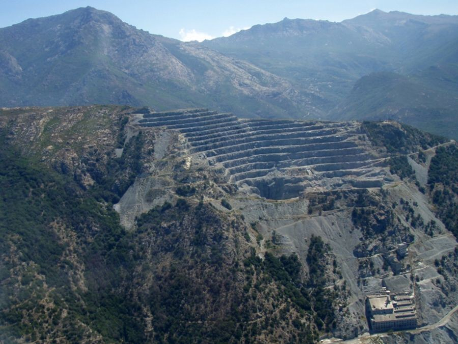 encienne mine sur le Cap Corse