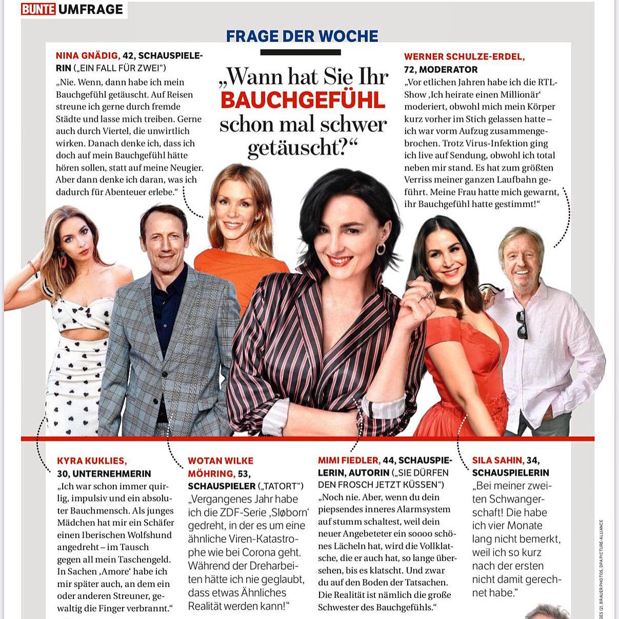 Gründerin & Unternehmerin Kyra Kuklies x BUNTE Magazin (Fragen Special)