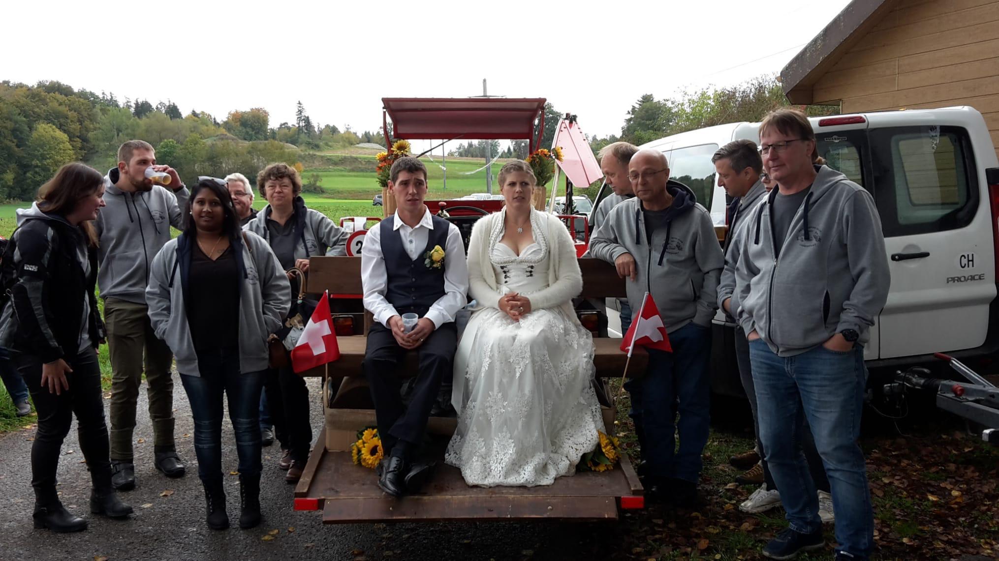 Hochzeit Aron