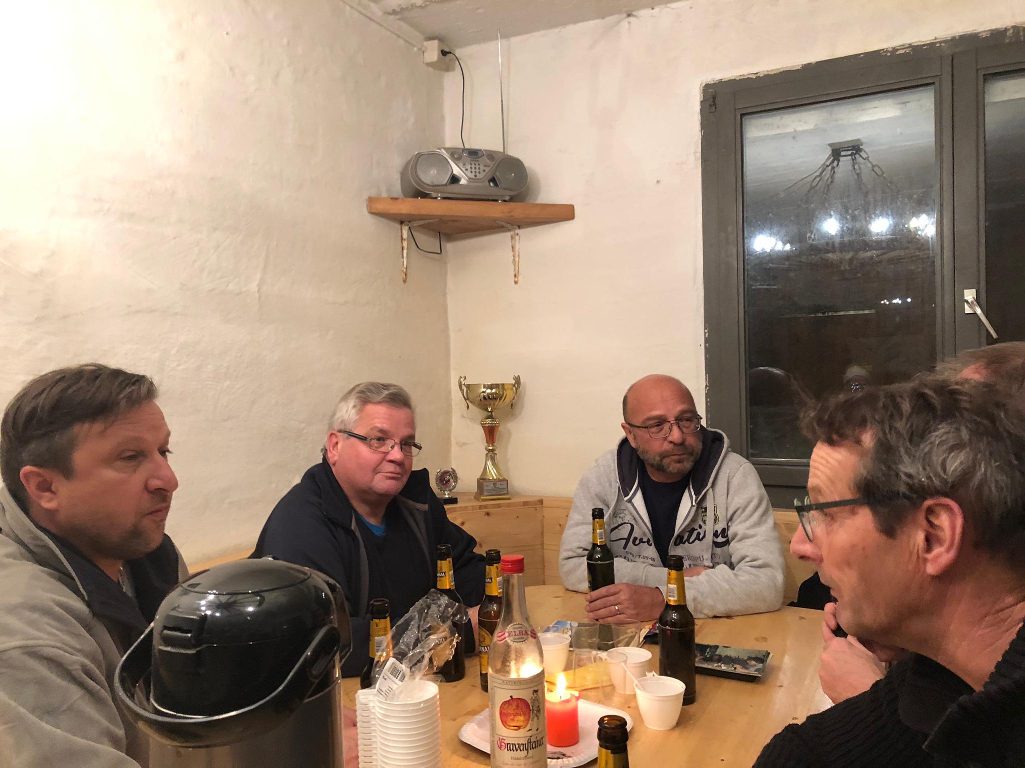Clubhüttenweinacht