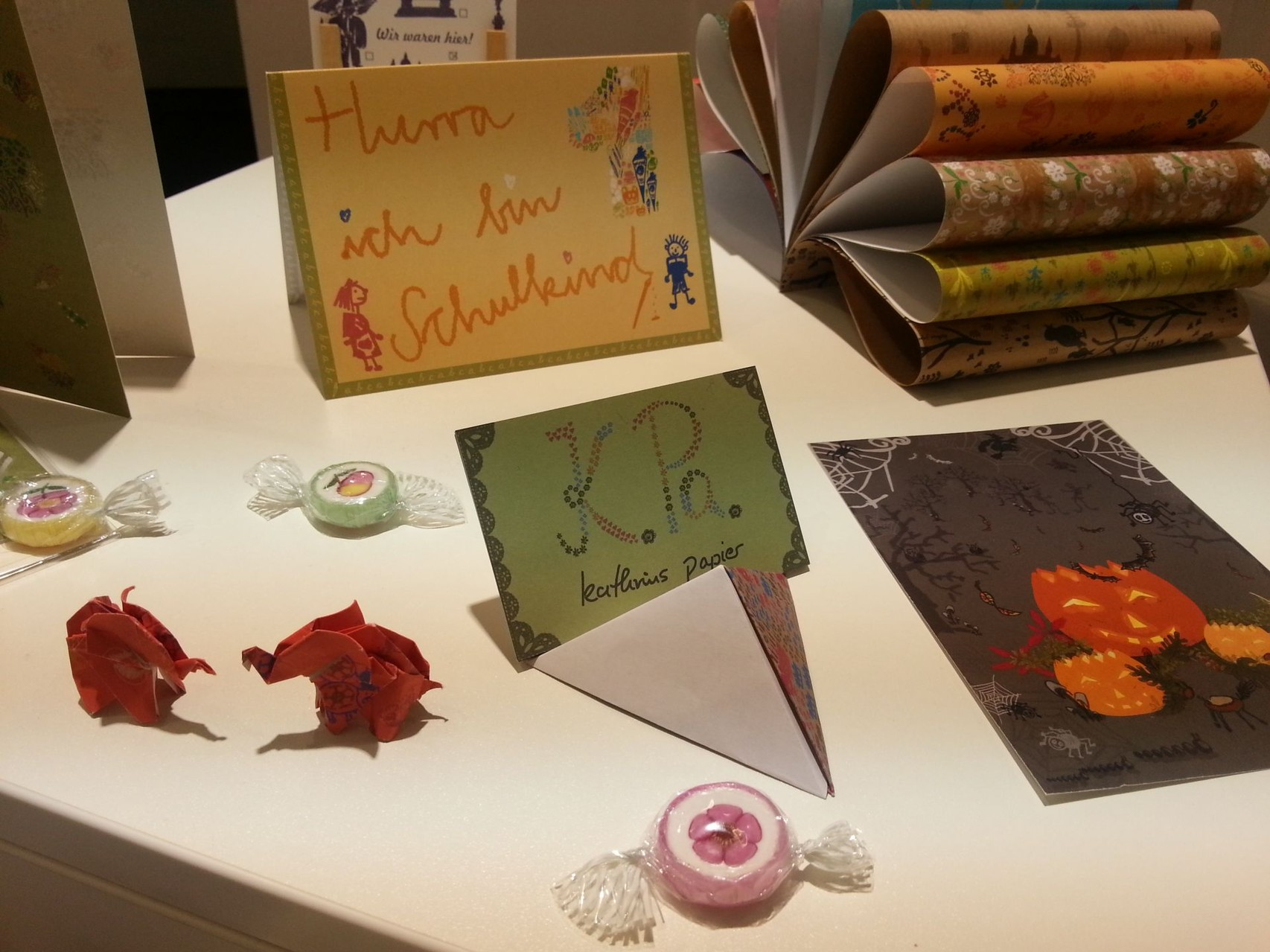 Kathrins Papier Karten Paperworld 2014