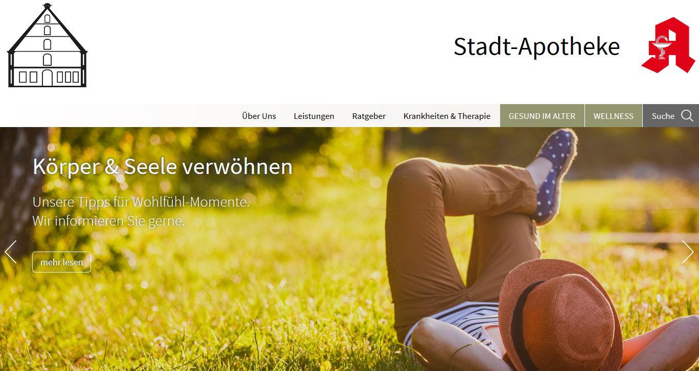 Verwendung des Logos auf der Internetseite