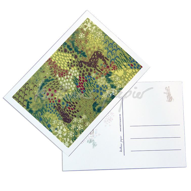 Kathrins Papier Postkarte Frühling