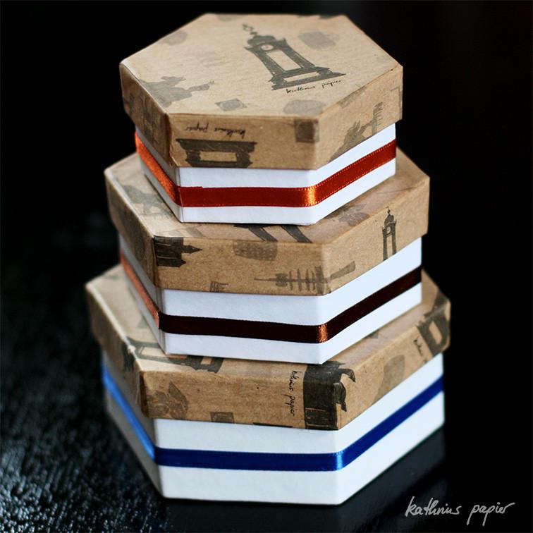 Kathrins Papier beklebte Schachteln -2-